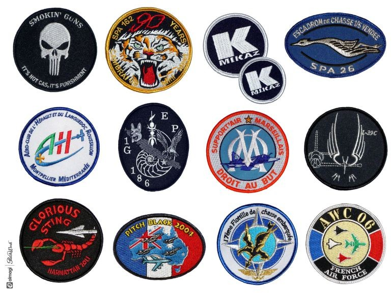 Patches – Formes standard